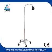 ENT otolaryngology LED Exam Lamp jd1100 3w portable examination led light with goose neck free shipping 1set