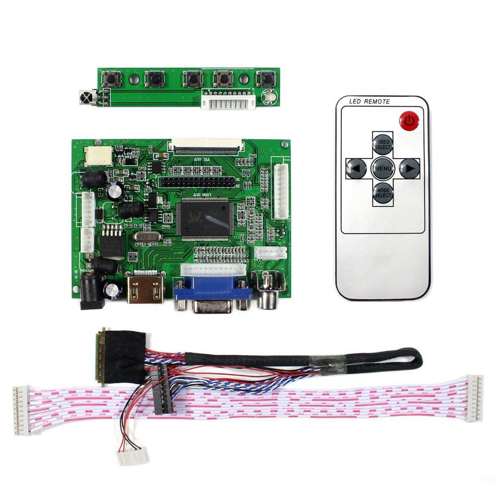 HDMI LCD Controller Board Work For 7inch 10.1inch 1280x800 N070ICG-LD1 B101EW05 LP101WX1 HSD101PWW1 LCD Screen