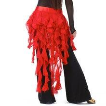 ffbb834c08ec32 Goedkope Dancewear Buikdansen Kleding Chiffon Rok voor Praktijk Verstelbare  Fit Verpakt Riem Vrouwen Buikdans Hip Sjaal