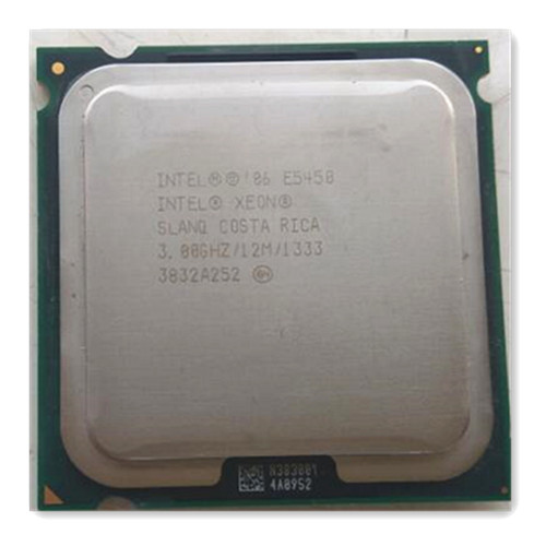 XEON E5450 CPU 3.0GHz /L2 Cache 12MB/Quad-Core//FSB 1333MHz/ server Processor working on some 775 socket mainboard free gift