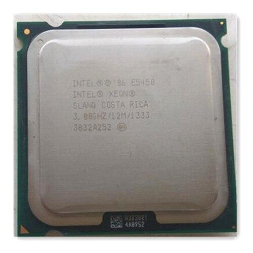 XEON E5450 CPU 3.0 GHz/L2 Cache 12 MB/Quad-Core//FSB 1333 MHz/serveur processeur de travail sur certains 775 socket carte mère cadeau gratuit
