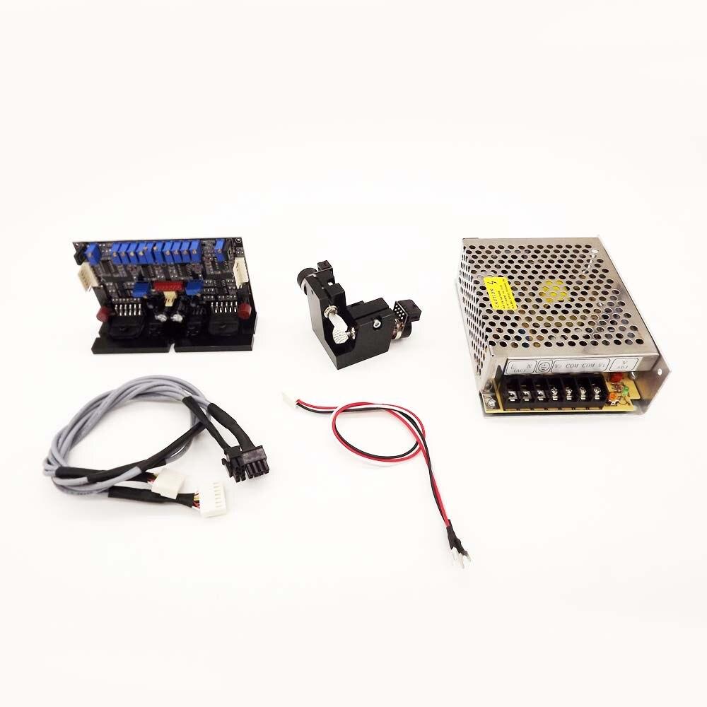 GT-50 50kpps Galvo ensemble de têtes de balayage haute vitesse Galvo Scanner en boucle fermée galvanomètre Scanners optiques norme ILDA