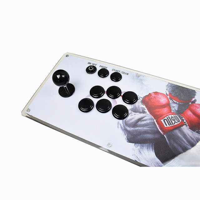 US $184 79 34% OFF Box 10 3D Pandora Key Arcade Console with PCB Board 2  Player Home Use Controller 2263 Games Retro Video Game Machine -in Coin