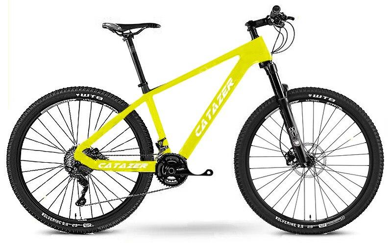 "HTB1ZmRTacvrK1Rjy0Feq6ATmVXaM - CATAZER Carbon Mountain Bike 17""/19""21"" Carbon Fiber Frame Bicycle 26er Wheel 20 Speeds Profession MTB Bicycle Disc Brake Bike"