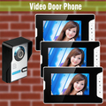 1V3 Home Door wired video intercom doorbell 7 Inch LCD Monitor Video Door Phone Intercom Door bell Camera Video Intercom system