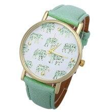 Damski zegarek kwarcowy ze Słoniami