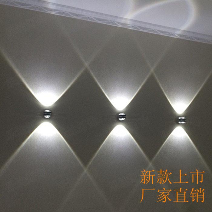 Coloré 360 degrés RGB trou en spirale KTV lampe murale à distance Surface installer lumière LED Luminaire éclairage livraison directe