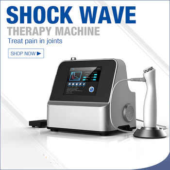 Protable pneumatic Shock Wave Physiotherapy Equipment Wave Therapy Shockwave for weigh loss Pain Relief Machine ED Treatment