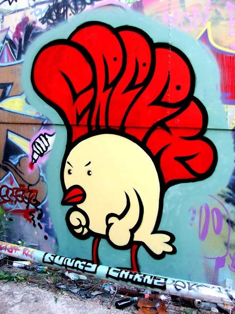 Us 1699 Funky Chicken Cool Graffiti Street Art Huge Canvas Print Poster Txhome D8113 On Aliexpresscom Alibaba Group