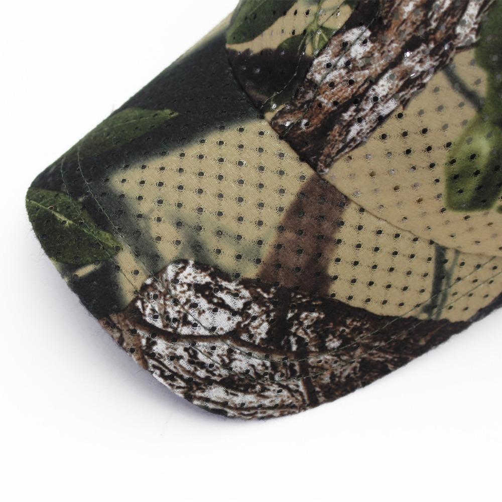 Jungle Old Tree Hat Hunting Fishing Camo Cap Adjustable Camcouflage Baseball Cap For Men (4)