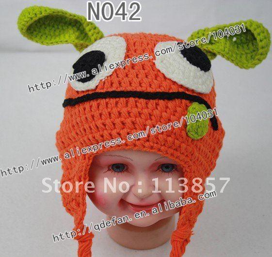 Wholesale Animal Children Hats 2012 Baby Crochet Cotton Hat Pattern