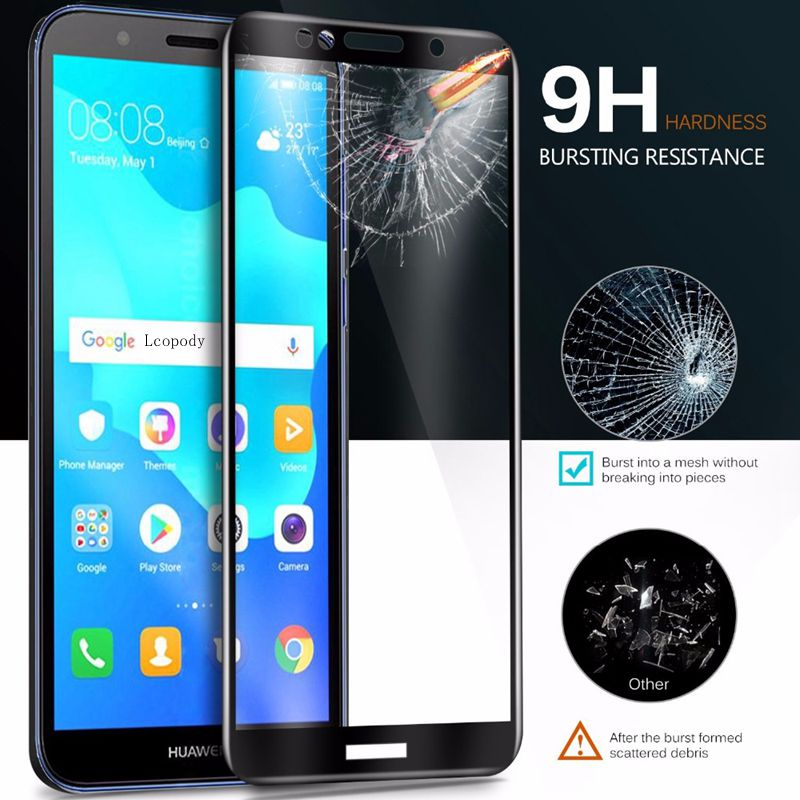 Mobile Phone Accessories Mrelf Tempered Glass For Huawei Honor 7c Aum-l41 5.7 Screen Protector 9h 2.5d Phone Protective Glass Huawei Honor 7c Pro 5.99 In Short Supply
