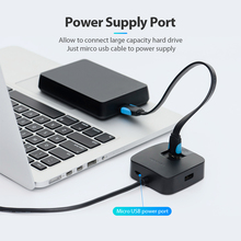 Portable High Speed 4 Ports USB Hub for Laptop