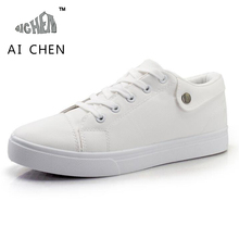 Spring Autumn White Shoes Mens Shoes Casual Flats Fashion PU Leather Male Lace Up Chaussure Homme New Tenis Masculino Esportivo