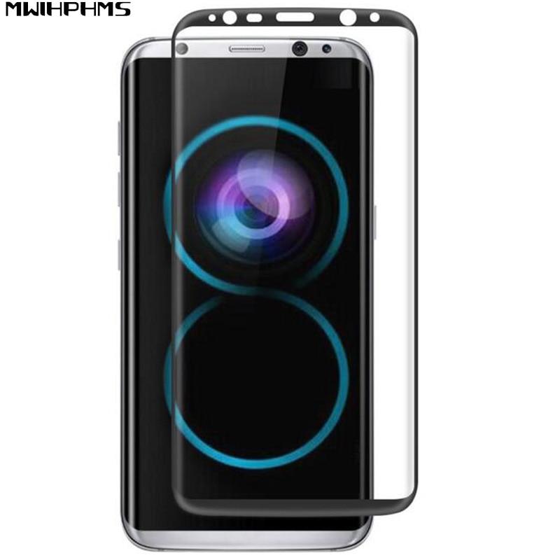 klares gehärtetes 3d oberflächenglas für samsung galaxy s8 samsung - Handy-Zubehör und Ersatzteile