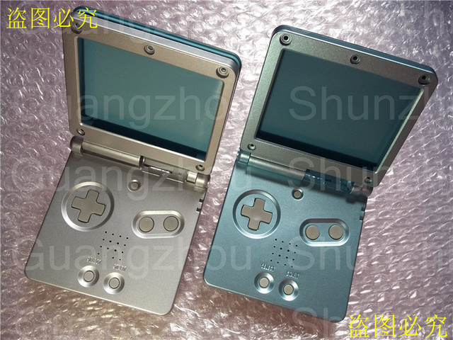 4 X Replacement Part Diy For Mario Housing Cover For Gameboy Advance
