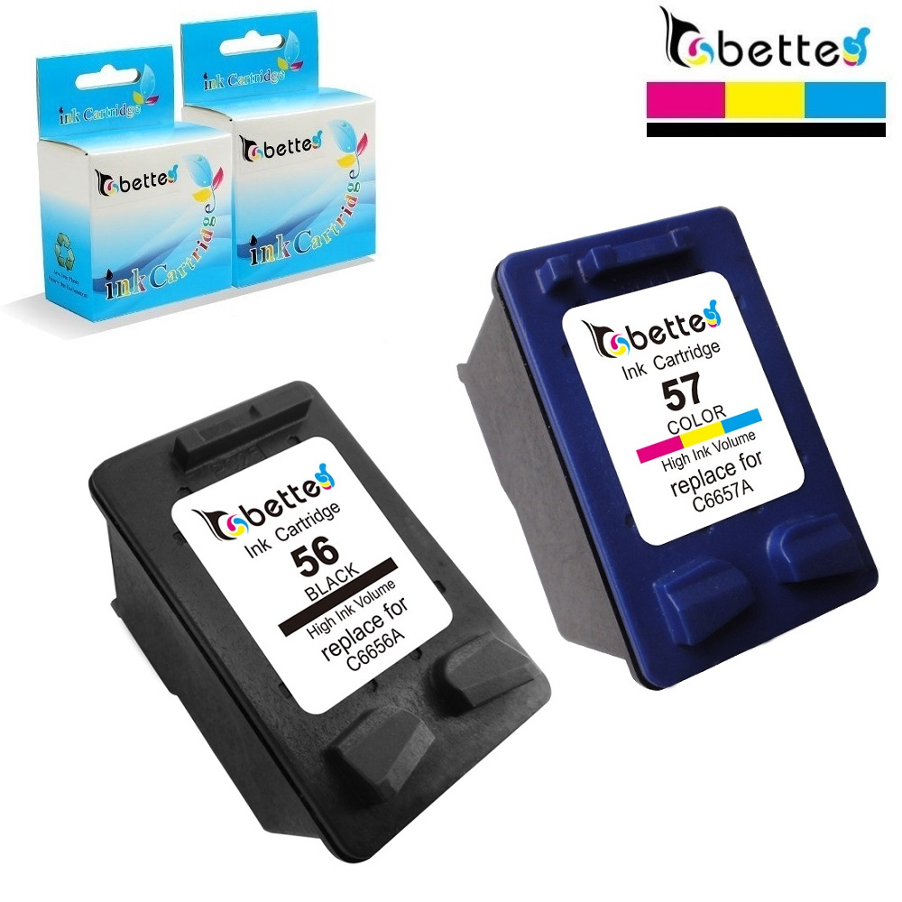 Ink Cartridges for HP 56 57 XL hp56 hp57 OfficeJet 5508 5510 5510v 5510xi 5515 6110 6110v 6150 J5500 J5508 J5520 PSC 1315 2510 ink cartridges for hp 56 57 xl hp56 hp57 officejet 5508 5510 5510v 5510xi 5515 6110 6110v 6150 j5500 j5508 j5520 psc 1315 2510