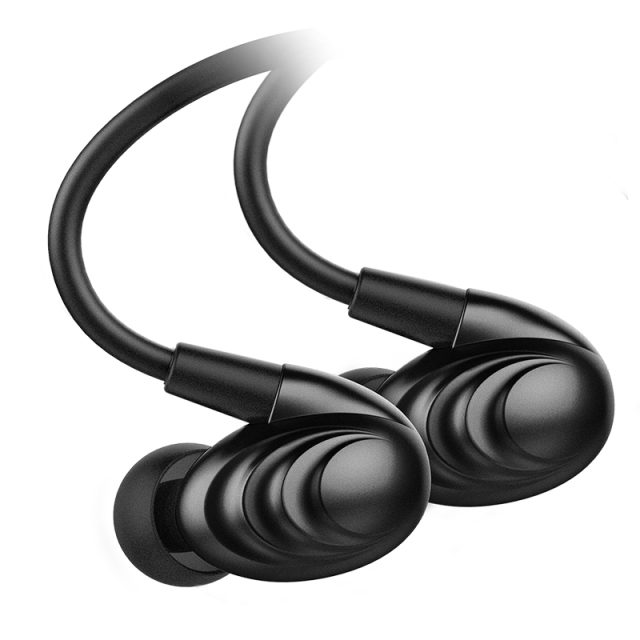 FiiO Metal Case Triple Driver Hybrid In-Ear HiFi Earphones/Headphone 3.5mm With Circle Iron Mixed F9SE Without Mic 1