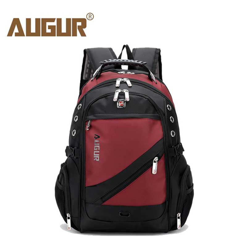 AUGUR 2018 Brand Men Backpack For Male Teenage college Dayback Larger Capacity Travel Bag Waterproof 17inch Laptop Back pack augur 2018 brand men backpack waterproof 15inch laptop back teenage college dayback larger capacity travel bag pack for male