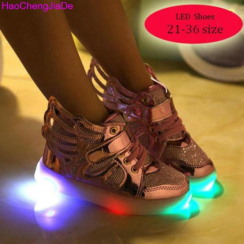 HaoChengJiaDe-Free-Gift-Girls-Luminous-LED-Light-Shoes-Angel-Wings-Baby-Boys-Casual-Led-Shoes-Kids-Children-Sneakers-size-21-36-2