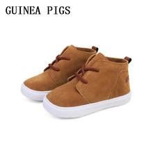 Spring and Autumn Fashion Girls Casual Shoes Non-Slip Rubber-Soled Boys Flat Childrens GUINEA PIGS Brand
