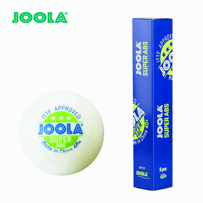 JOOLA Table Tennis Ball 3-star Super ABS New Material Seamed Plastic 40+ Poly Ping Pong Balls Tenis De Mesa