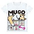 Adorável Muco! shiba Inu Camiseta Anime Japão Harajuku Estilo Bonito Imprimir T-shirt Engraçados Do Cão Amigo Legal Camisa Unisex Para Mulheres Dos Homens