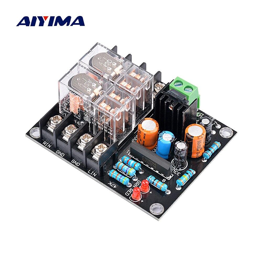 AIYIMA 12-18V UPC1237 kit Placa de Protecção Placa de Proteção Speaker altifalante Parte DC Monitor de atraso de Inicialização