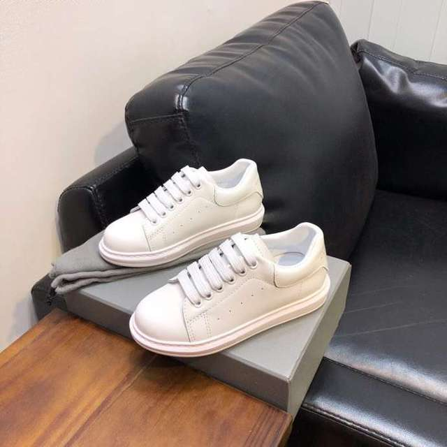 Spring and autumn boys and girls White casual shoes