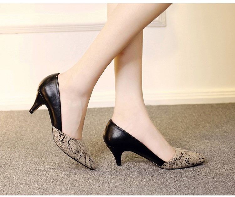 comfortable high heels pointed toe high quality snake grain elegance shoes - free shipping! Comfortable High Heels Pointed Toe High Quality Snake Grain Elegance Shoes – Free Shipping! HTB1ZmUeNXXXXXXtXXXXq6xXFXXXi