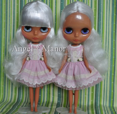 Nude Blyth Doll, silver hair,Dark skin, big eye doll,Fashion doll Suitable For DIY Change BJD , Free shipping For Girl's Gift nude blyth doll with gold hair fashion doll suitable for diy change bjd for girl s gift free shipping pjj012