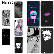 MaiYaCa Naruto Dor suave tpu phone case capa para o iphone 8 7 6 6S Plus X XR XS MAX 5S SEcase shell(China)