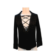 The new special men's Latin American Apparel Latin American clothing competition service children's dance apparel Y-60