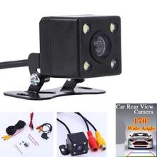 170 CMOS 4 LED автомобилей заднего вида Парковка камеры HD ночного видения водонепроницаемый