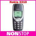 3310 Оригинал Nokia 3310 Дешевые Разблокирована GSM 900/1800 Восстановленное Дешевый Nokia Сотовый Телефон Бесплатная Доставка