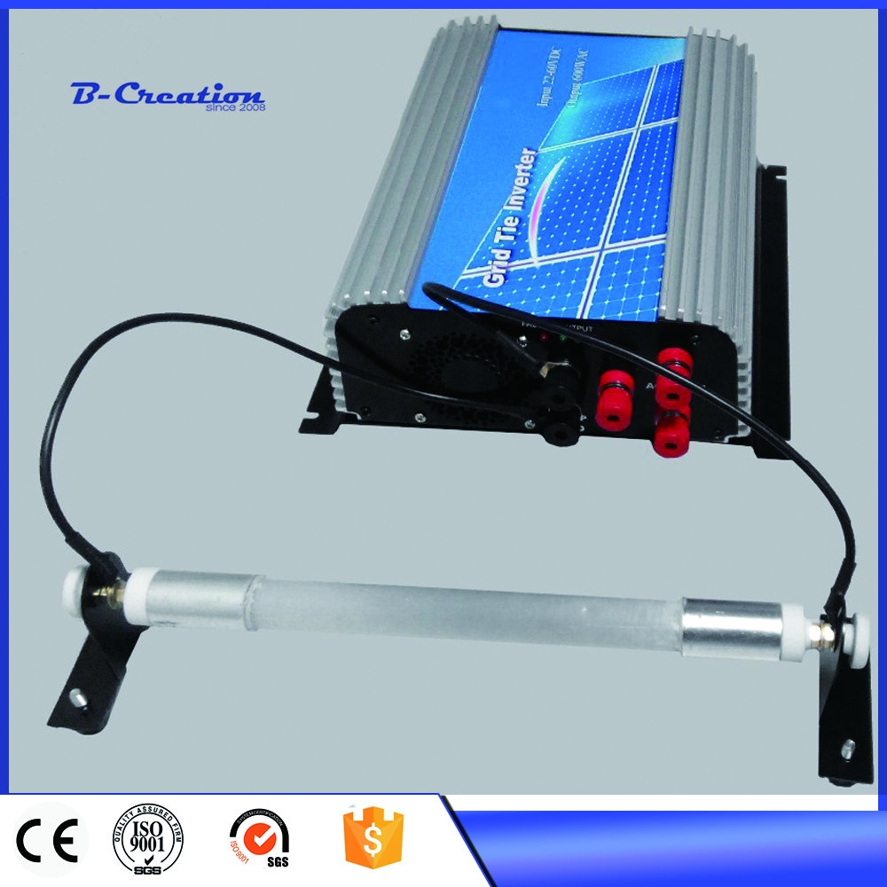 600W grid tie wind inverter with 110v/220v AC output on grid inverter with a built-in rectifier new 600w on grid tie inverter 3phase ac 22 60v to ac190 240volt for wind turbine generator