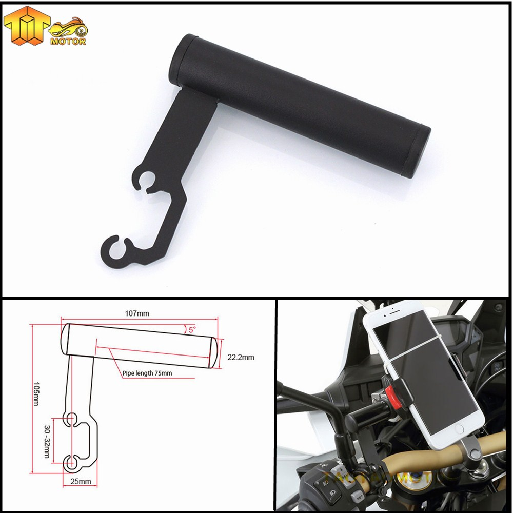 Tireless Ck Cattle King New For Bmw K1600 Gt/gtl K1300 S/r/gt K1200s K1200r Hp2 Sport Enduro Megamoto Mobile Phone Navigation Bracket Back To Search Resultsautomobiles & Motorcycles Motorcycle Accessories & Parts