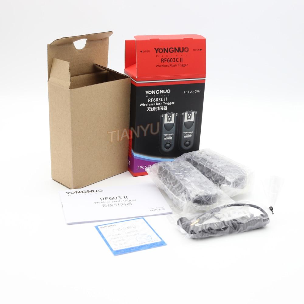 YONGNUO RF-603 II C1 Radio Sans Fil À Distance Déclencheur Flash pour Canon 1100D 1000D 600D 700D 650D 100D 550D 500D 450D 400D 350D 300D