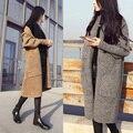 Хорошо продаются Новые Осенью и зимой вязать свитера кардигана блузки дикий Куртки Трикотажные свитера Кашемира женщин Пальто