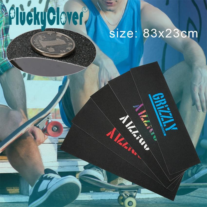 83x23cm Skateboard Deck Grip Tape Sandpaper Griptape Sticker Anti-Slip Freestyle