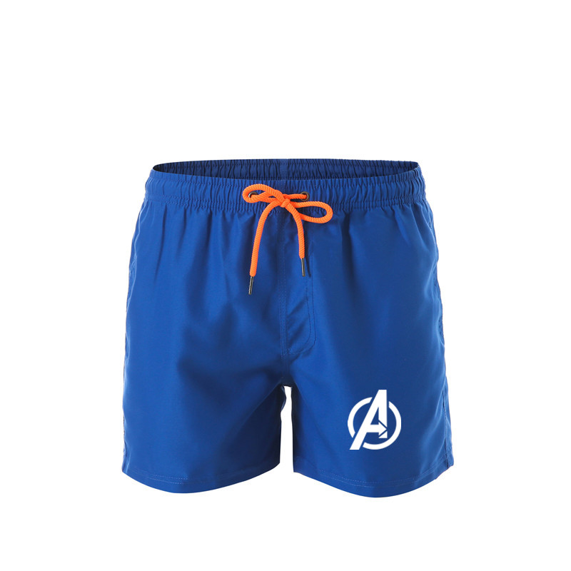2019 New Marvel Avengers 4 Summer Fashion Casual Sports Jogging Beach Pants Quick Dry Surf Surf Men's Shorts