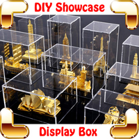 New Arrival Gift Acrylic Showcase 3D Model Nice Window DIsplay Box Specific Match Piececool Models Luxury Present Showing Toys