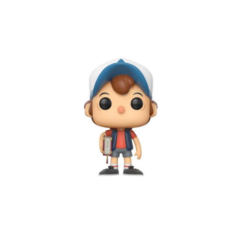 "Lensple Gravity Falls Dipper Pines Action Figures Collection Model Kids Toys 4"" 10cm"