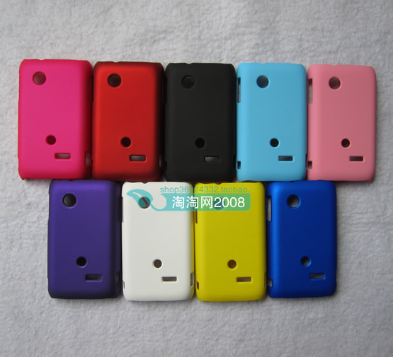 finest selection 1e099 009a6 US $2.58 |For Sony Xperia tipo ST21i Cover,Colorful Rubber Matte Hard Back  Cover Case For Sony Xperia tipo ST21i ST21a,High Quality,Free on ...