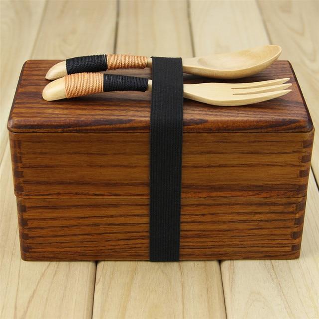 Box with spoon fork Cheap bento boxes 5c6479e2ee32b