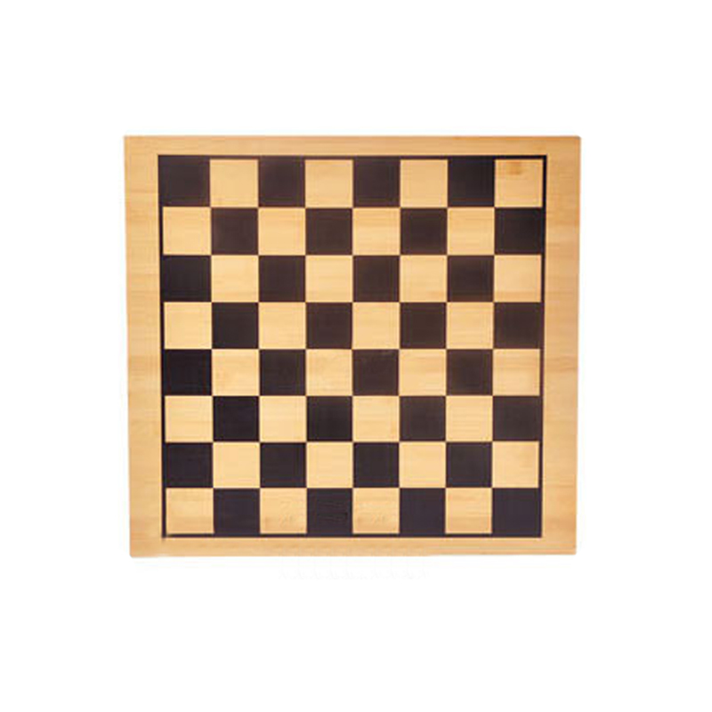 BSTFAMLY Bamboo Chess Game 44*47cm Chessboard 24*23mm Checker Go Chess Board and 47*47 mm Checker International Chessboard LA105 chess and mathematical thinking