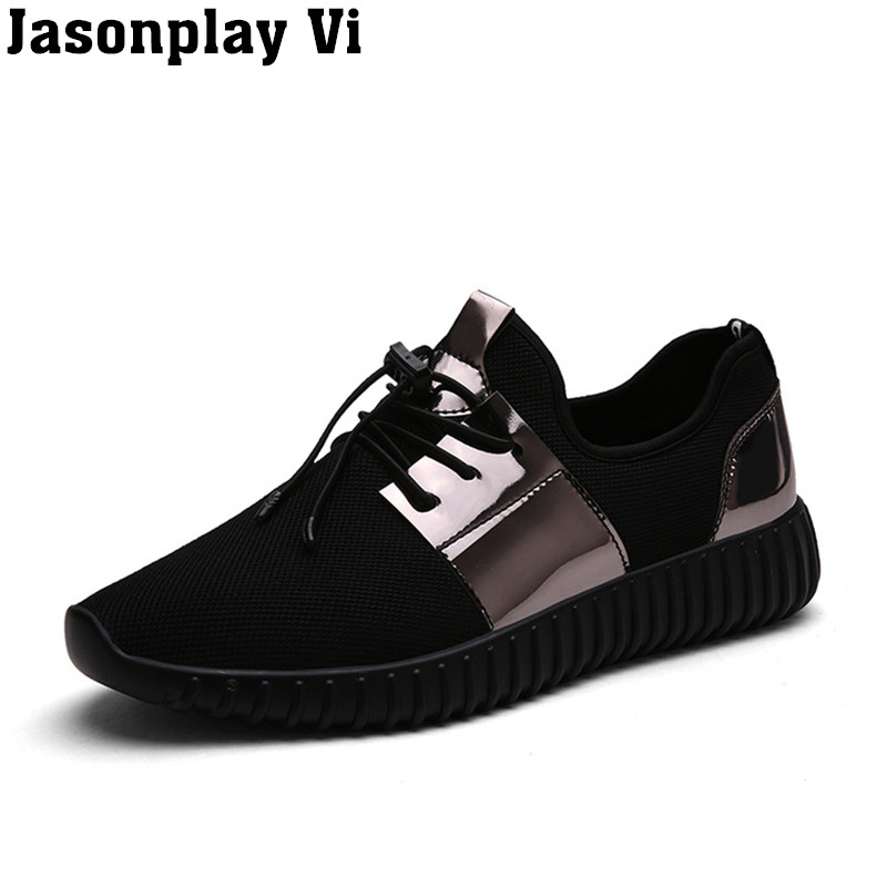 ФОТО Jasonplay Vi & 2017 New brand fashion Men shoes plus size Unisex casual shoes high quality Outdoor Climbing shoes WZ01