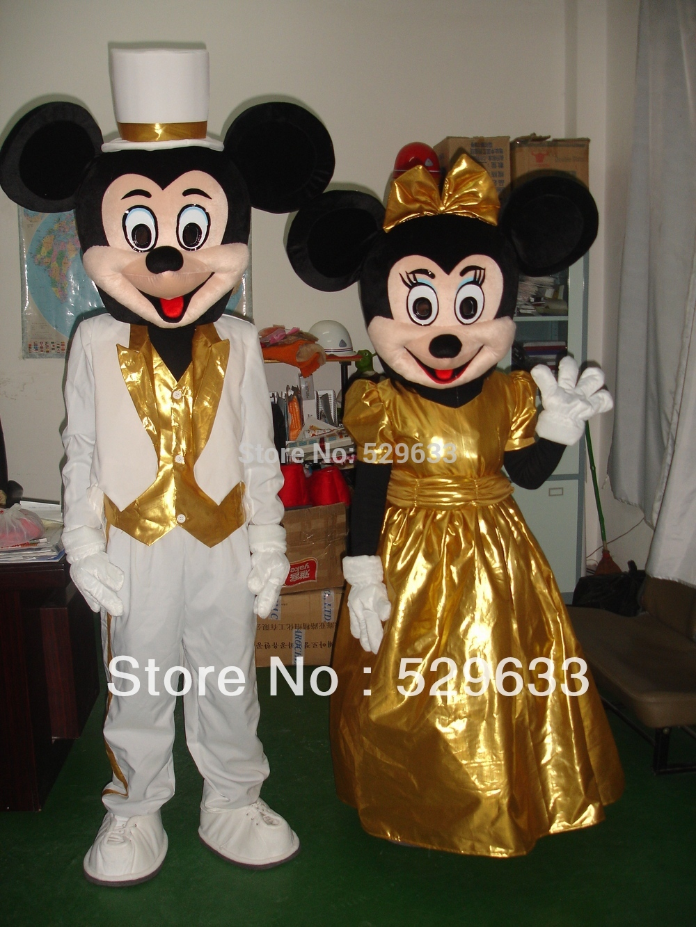 2017 Crazy Sale Minnie Mouse Mascot Costume Fancy Dress Costume Free Shipping