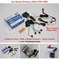 Para Mazda Premacy MK1 1999 ~ 2009-Car Sensores de Estacionamento + Retrovisor Back Up Da Câmera = 2 em 1 Visual/Alarme BIBI Estacionamento sistema