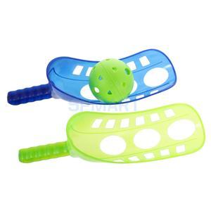 Amusant Air Scoop balle lancer et attraper jeu enfant été jardin extérieur cour amusant Sport jeu jouet  